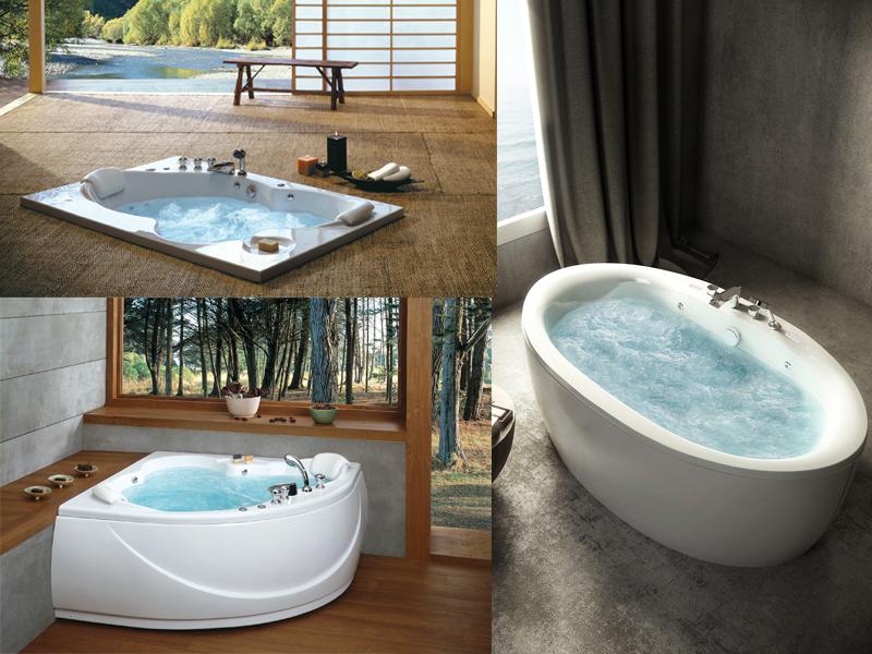 อ่างอาบน้ำ อุปกรณ์ในห้องน้ำ ชิ้นโปรดในห้องน้ำของใครหลายคนที่ชื่นชอบการแช่น้ำเพื่อผ่อนคลายความตึงเครียดของร่างกาย