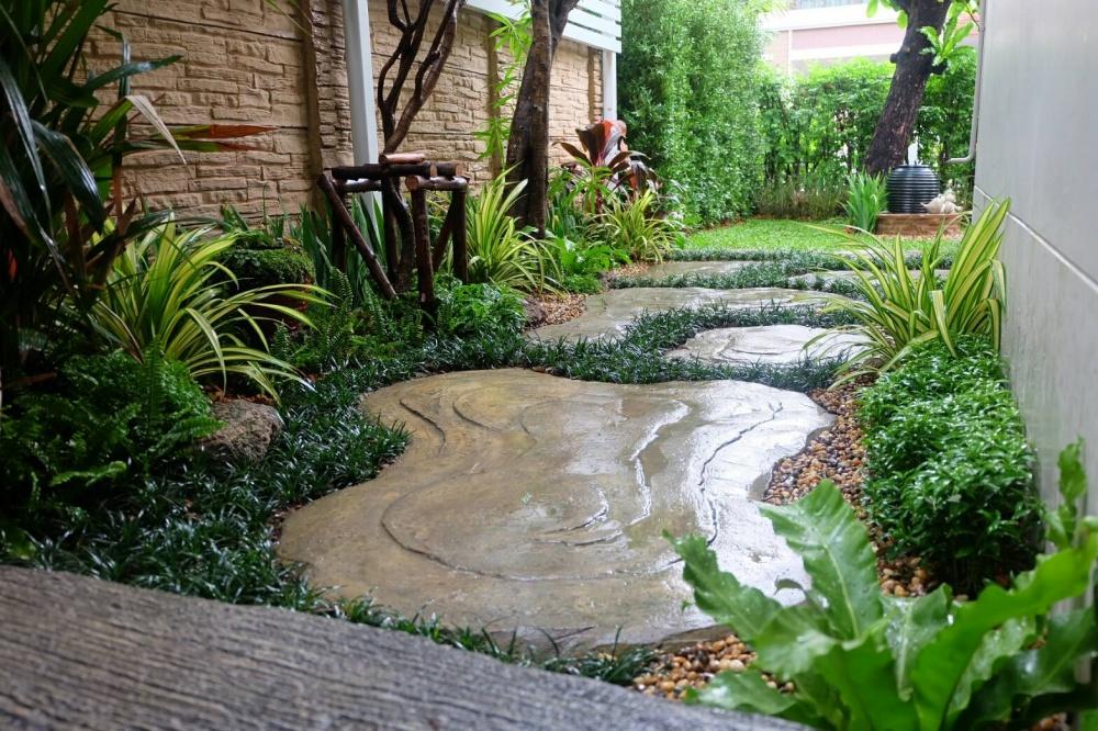 สวนสไตล์ทรอปิคอลโมเดิร์น – สไตล์การแต่งสวน สำหรับ นักแต่งสวนมือใหม่ ทางเลือกในการวางแผนก่อนแต่งสวน