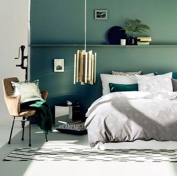 สีสำหรับทาผนัง กับสีโทนเขียว