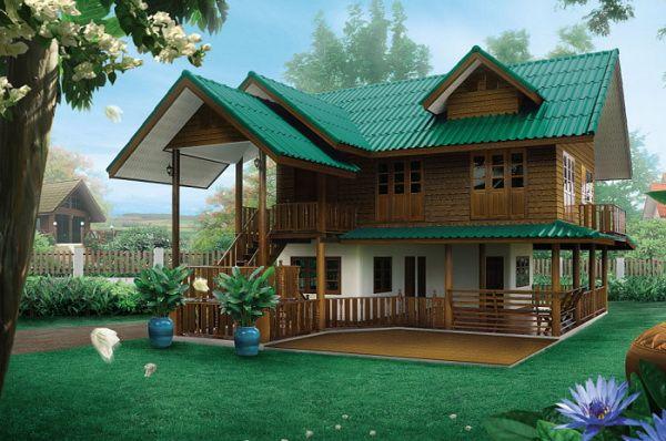 สไตล์บ้านยอดนิยม บ้านสไตล์ไทย หรือไทยประยุกต์ ที่มีมานานในไทย