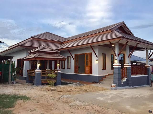 การสร้างบ้านแบบทรงไทย กับการผสมผสานในแบบสไตล์โมเดริน์
