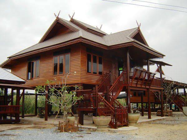 การสร้างบ้านแบบทรงไทย สไตล์คลาสสิค ถือว่าเป็นบ้านทรงไทยที่ ทั้งสวย และน่าอยู่มาก ๆ
