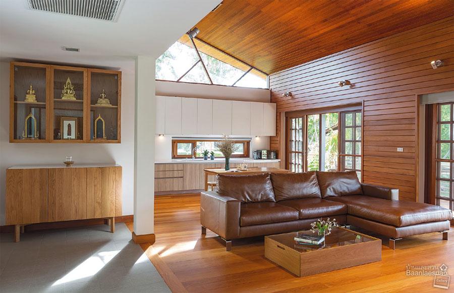 Nature Style การแต่งบ้านสไตล์ธรรมชาติ ด้วยงานไม้
