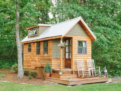 บ้านตากอากาศหลังเล็กทรงบ้านต่างประเทศน่ารักๆ