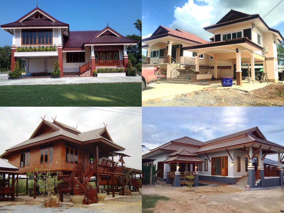 การสร้างบ้านแบบทรงไทย กับไอเดียเด็ดๆ ที่ทั้งสวยและดูดี
