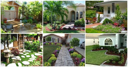 จัดสวนหน้าบ้านด้วยวิธีบ้านๆ น้อยแต่มาก ให้ความสวยในอีกสไตล์
